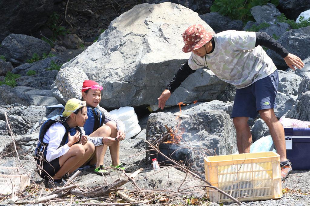 2018夏キャンプサバイバルコース
