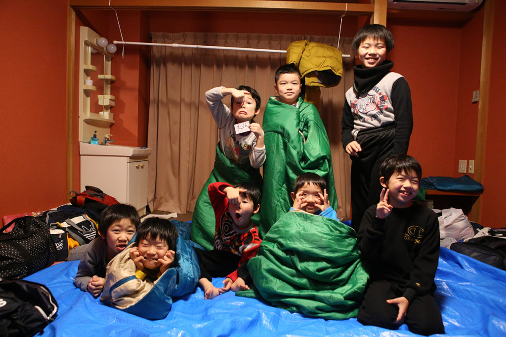 2018冬の若狭路まるごとキャンプ【B1組】