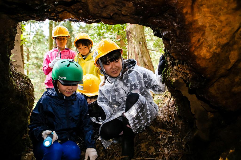 春の若狭路まるごとキャンプ 洞窟探検