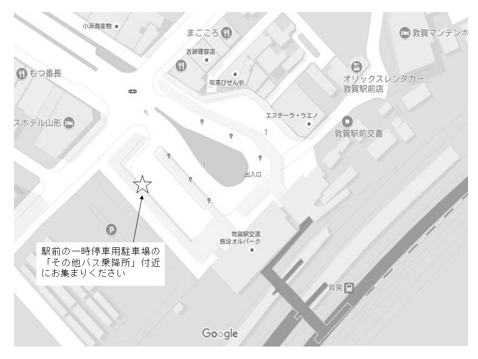 JR敦賀駅の地図